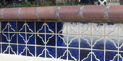 Swimming Pool Tile Cleaning